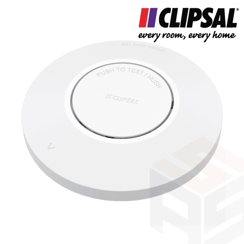 Clipsal Photoelectric Smoke Alarm with Wireless Interconnect & 10yr Battery