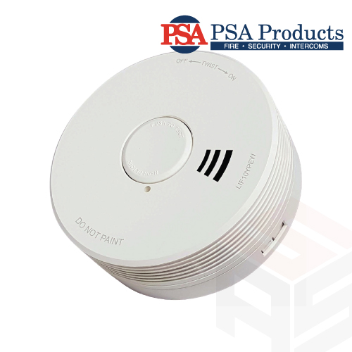 PSA Photoelectric Smoke Alarm with RF Wireless Interlink